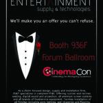 CinemaCon 2019 Entertainment Supply & Technologies